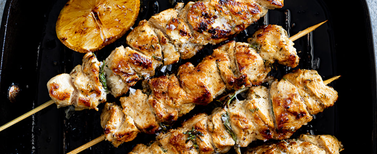 Garlic and Herb Chicken Skewers   Our 12 Favourite Ooni Recipes   Outdoor Concepts NZ