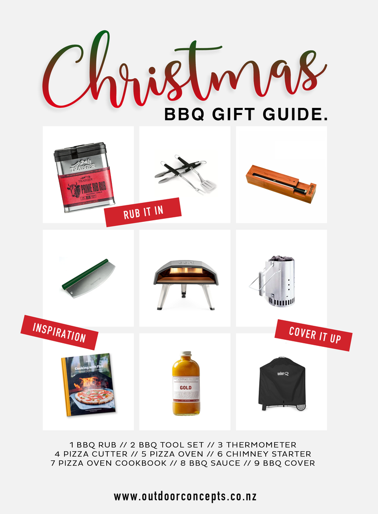 BBQ gift guide | Christmas Gifts | Outdoor Concepts