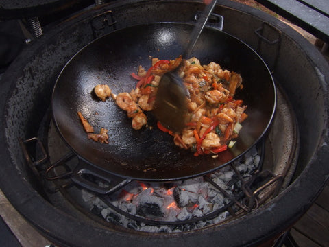 KAMADO JOE CAST IRON WOK | BBQs NZ | Kamado Joe NZ | Accessories | Outdoor Concepts