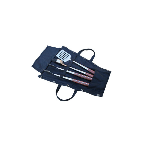 KADAI UTENSIL SET WITH CANVAS WRAP | Outdoor Fires NZ | Kadai NZ | fireplace accessories, Outdoor Fires | Outdoor Concepts