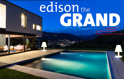 FATBOY EDISON THE GRAND LAMP | Garden NZ | Fatboy NZ | Garden, lamps | Outdoor Concepts