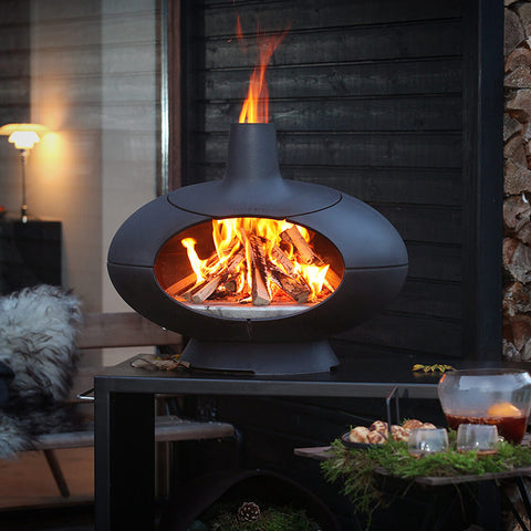 MORSO FORNO GARDEN SET | Outdoor Fires NZ | Morso Fire | Outdoor Concepts NZ