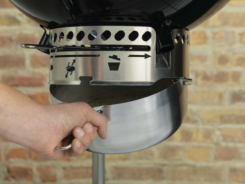 WEBER PERFORMER KETTLE WITH GBS GRILL | BBQs NZ | Weber | Outdoor Concepts NZ