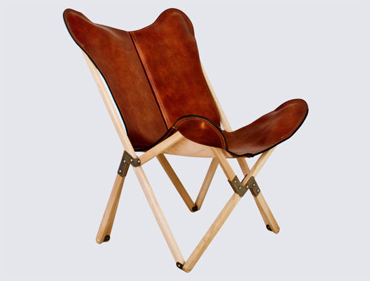 Formentera Folding Leather Designer Chair | Other Products NZ | vendor-unknown NZ | Other Products | Outdoor Concepts