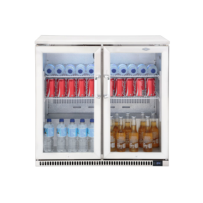 BEEFEATER DOUBLE DOOR OUTDOOR FRIDGE | Outdoor Kitchen NZ | BeefEater | Outdoor Concepts NZ