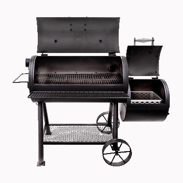 OKLAHOMA JOE'S HIGHLAND REVERSE FLOW SMOKER | BBQs NZ | Oklahoma Joe's NZ | Smokers | Outdoor Concepts