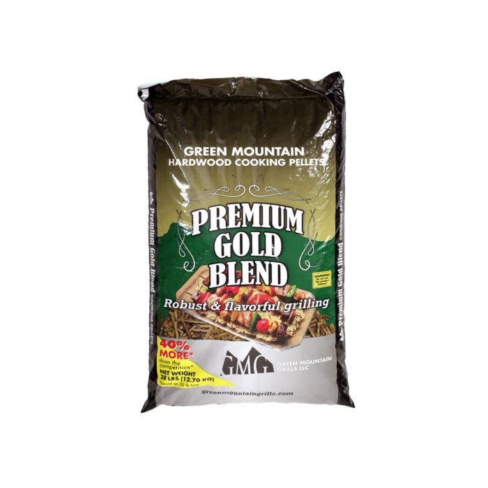 GMG Premium Gold Blend Wood Pellets | BBQs NZ | Wood Pellets NZ | Fuels | Outdoor Concepts