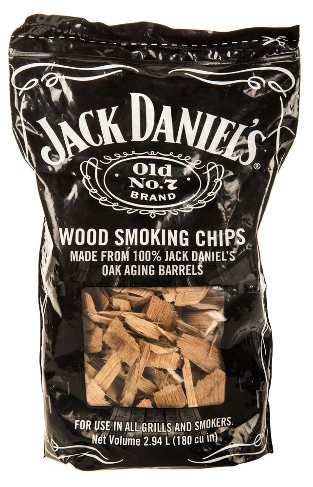 JACK DANIELS OLD NO.7 WOOD CHIPS 900G | BBQs NZ | Woodchips + NZ | | Outdoor Concepts
