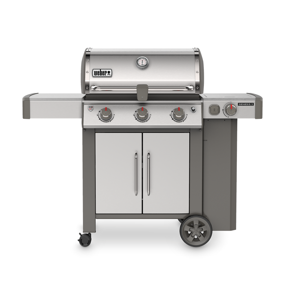 WEBER GENESIS II S-355 STAINLESS STEEL | BBQs NZ | Weber NZ | Gas BBQ | Outdoor Concepts
