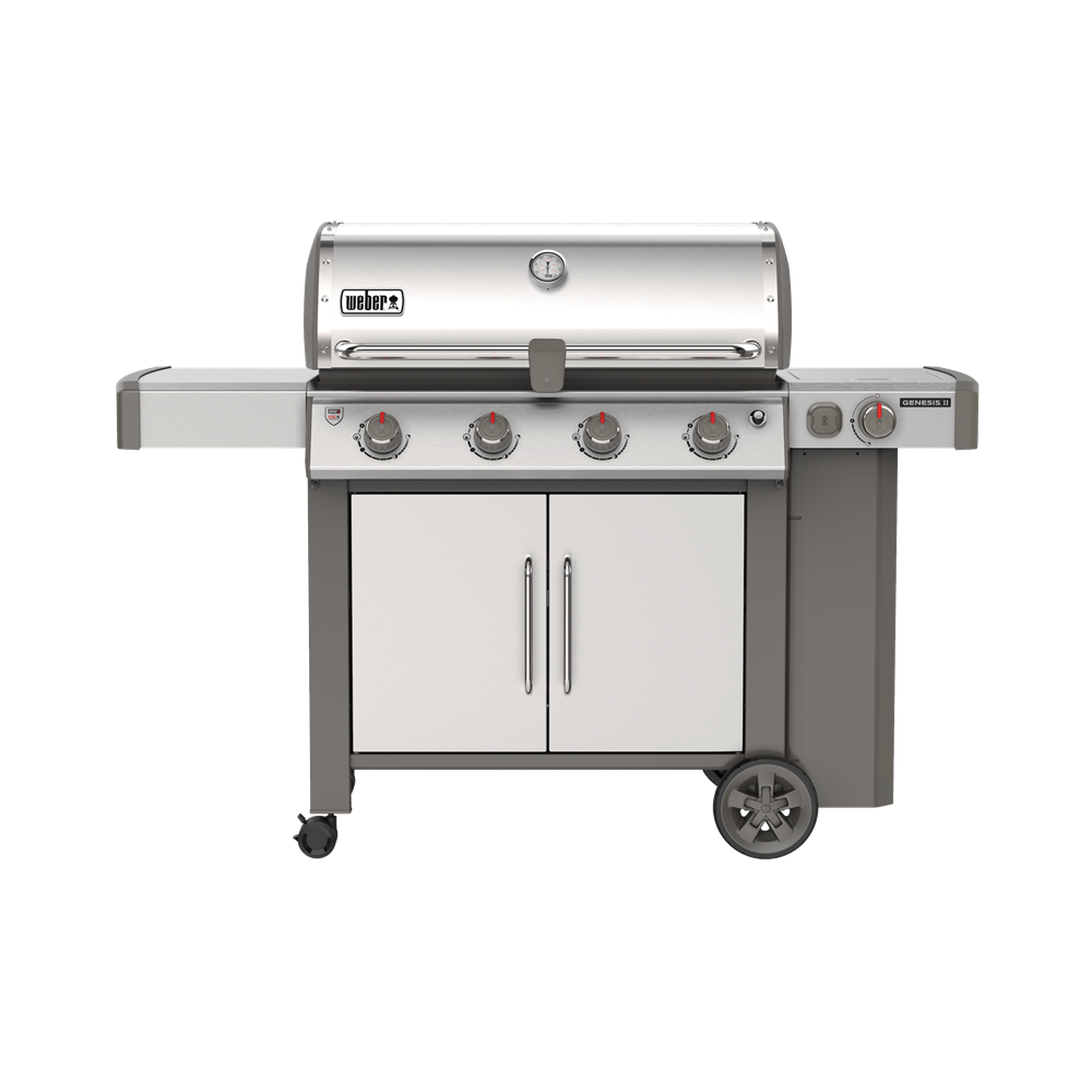 Weber Genesis II S-455 STAINLESS STEEL | BBQs NZ | Weber NZ | Gas BBQ | Outdoor Concepts