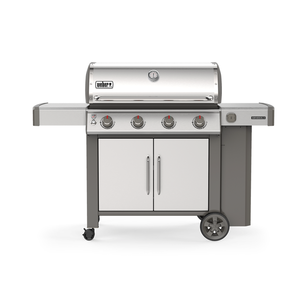 WEBER GENESIS II S-415 STAINLESS STEEL | BBQs NZ | Weber NZ | Gas BBQ | Outdoor Concepts