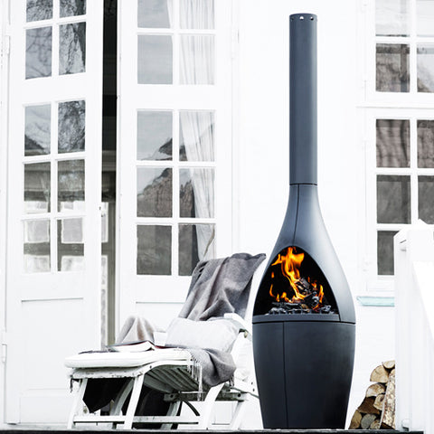 MORSO KAMINO OUTDOOR TERRACE FIREPLACE