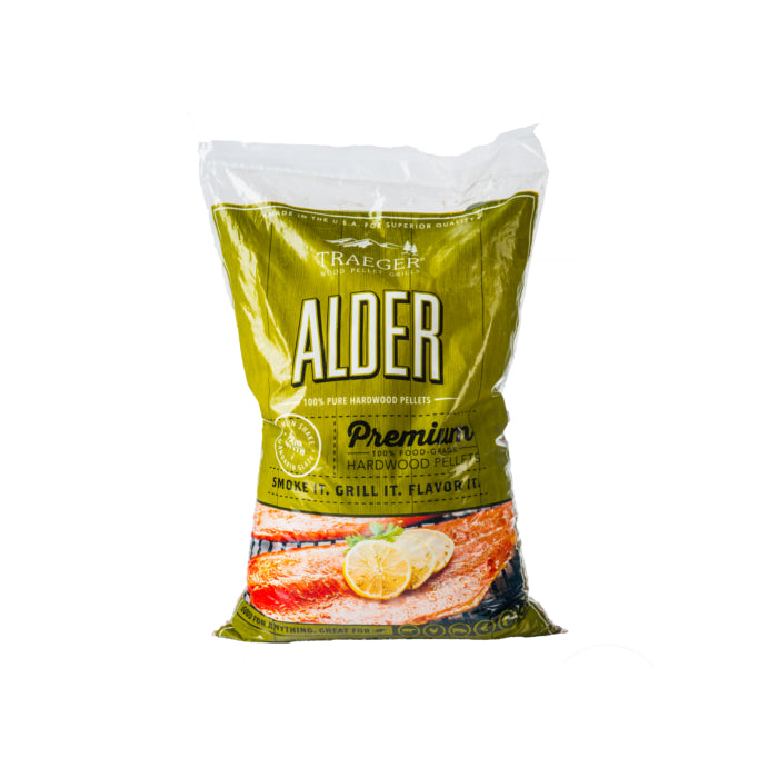 TRAEGER ALDER WOOD PELLETS 9KG | BBQs NZ | Wood Pellets NZ | Fuels | Outdoor Concepts