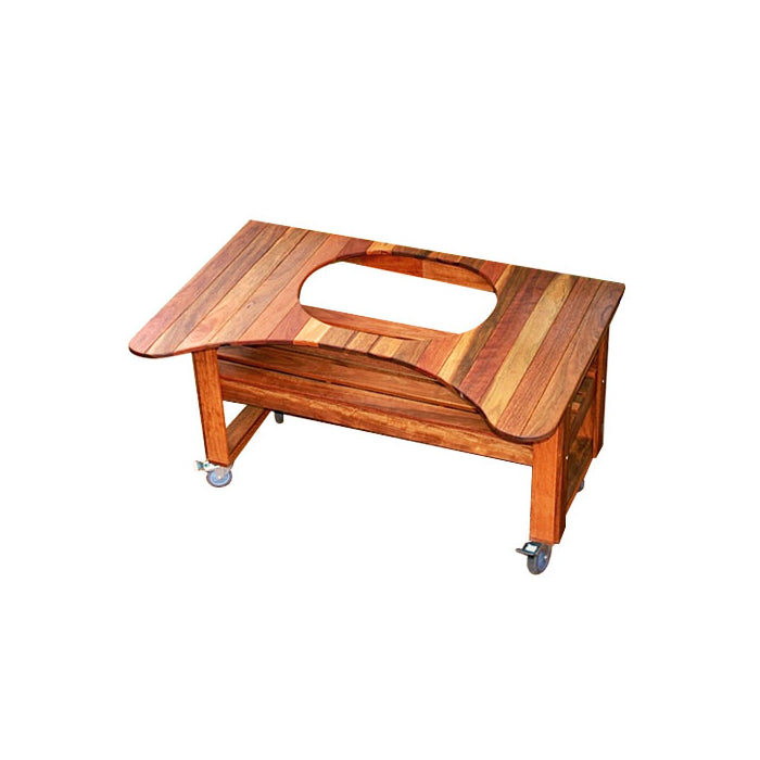 PRIMO SPOTTED GUM TABLE | BBQs NZ | Primo Grills | Outdoor Concepts NZ