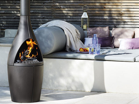 MORSO KAMINO OUTDOOR TERRACE FIREPLACE | Outdoor Fires NZ | Morso Fire NZ | Charcoal, Outdoor Fires, outdoor wood | Outdoor Concepts