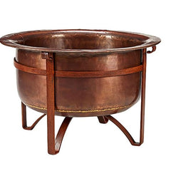 Acadia Copper fire pit | best fire pits NZ | outdoor concepts