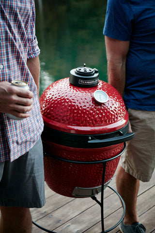 KAMADO JOE JUNIOR GRILL RED | BBQs NZ | Kamado Joe NZ | Charcoal, portable bbq | Outdoor Concepts
