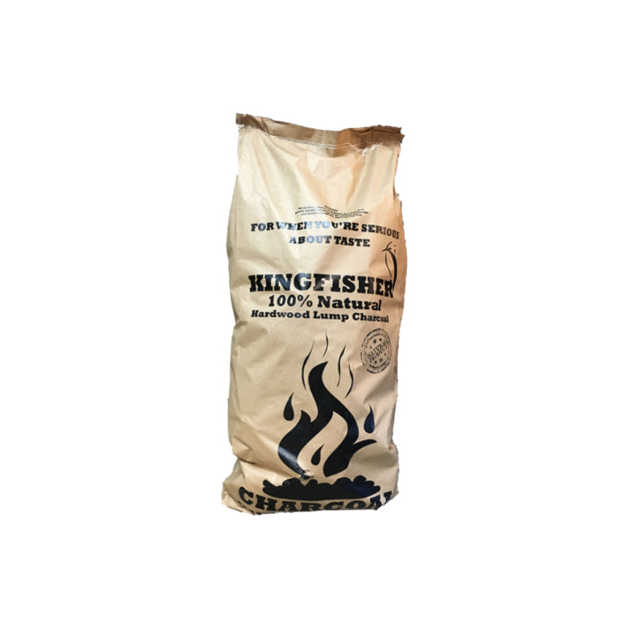 KINGFISHER COFFEE LUMP WOOD CHARCOAL 10KG | BBQs NZ | Charcoals NZ | Fuels | Outdoor Concepts