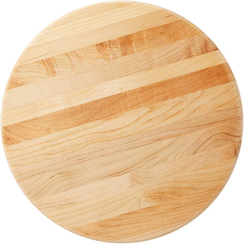 BOOS BLOCK B12R ROUND MAPLE WOOD EDGE GRAIN CUTTING BOARD WITH FEET 30CM | BBQs NZ | John Boos & Co. NZ | Accessories, Cutting Board | Outdoor Concepts