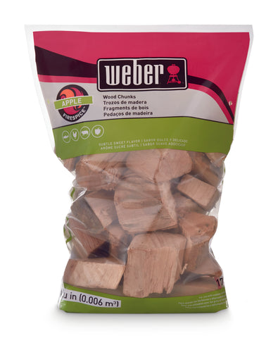 WEBER WOOD CHUNKS (1.8KG)