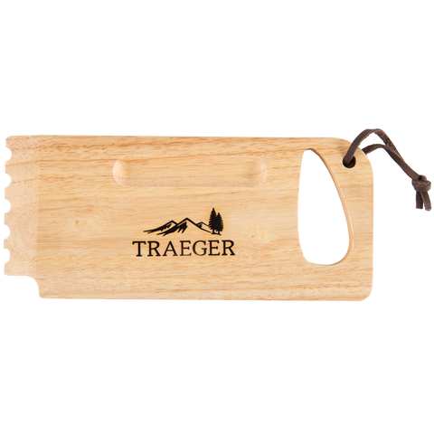 TRAEGER WOODEN GRILL GRATE SCRAPE | BBQs NZ | Traeger NZ | Accessories, cleaning | Outdoor Concepts