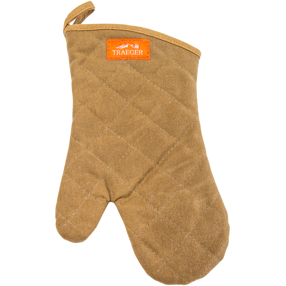 TRAEGER BBQ MITT - BROWN | BBQs NZ | Traeger NZ | Accessories | Outdoor Concepts