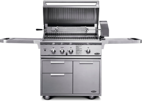 "DCS 36"" ALL GRILL ON CART"