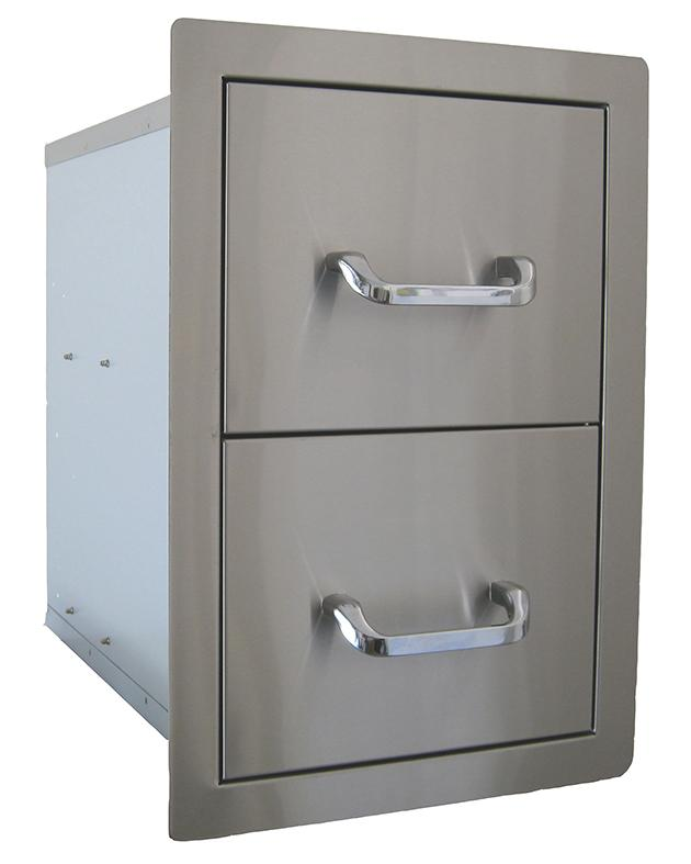 BEEFEATER DOUBLE DRAWER INSERT