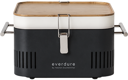 EVERDURE CUBE CHARCOAL BBQ | BBQs NZ | Everdure NZ | Charcoal, portable bbq | Outdoor Concepts