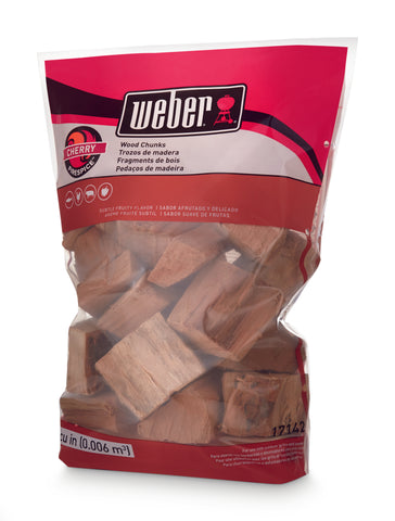 WEBER WOOD CHUNKS (1.8KG) | BBQs NZ | Woodchips + | Outdoor Concepts NZ