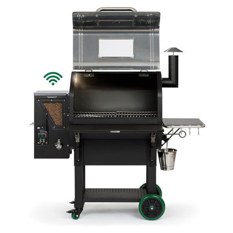 GMG DANIEL BOONE PRIME PLUS STAINLESS STEEL | BBQs NZ | Green Mountain Grills NZ | Smokers | Outdoor Concepts