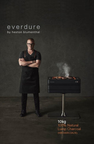 EVERDURE 100% NATURAL LUMP CHARCOAL 10KG | BBQs NZ | Charcoals NZ | Fuels | Outdoor Concepts