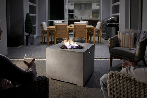 GASMATE CINDER SQUARE FIRETABLE | Outdoor Fires NZ | Gasmate NZ | Outdoor Fires | Outdoor Concepts