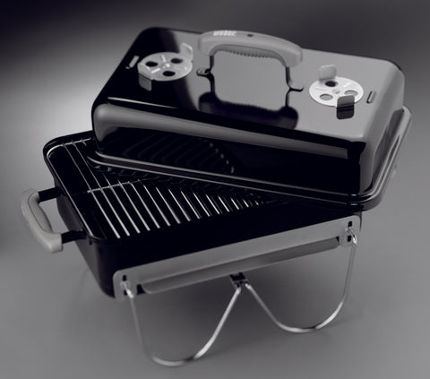 WEBER GO ANYWHERE BLACK | BBQs NZ | Weber NZ | Charcoal, portable bbq | Outdoor Concepts