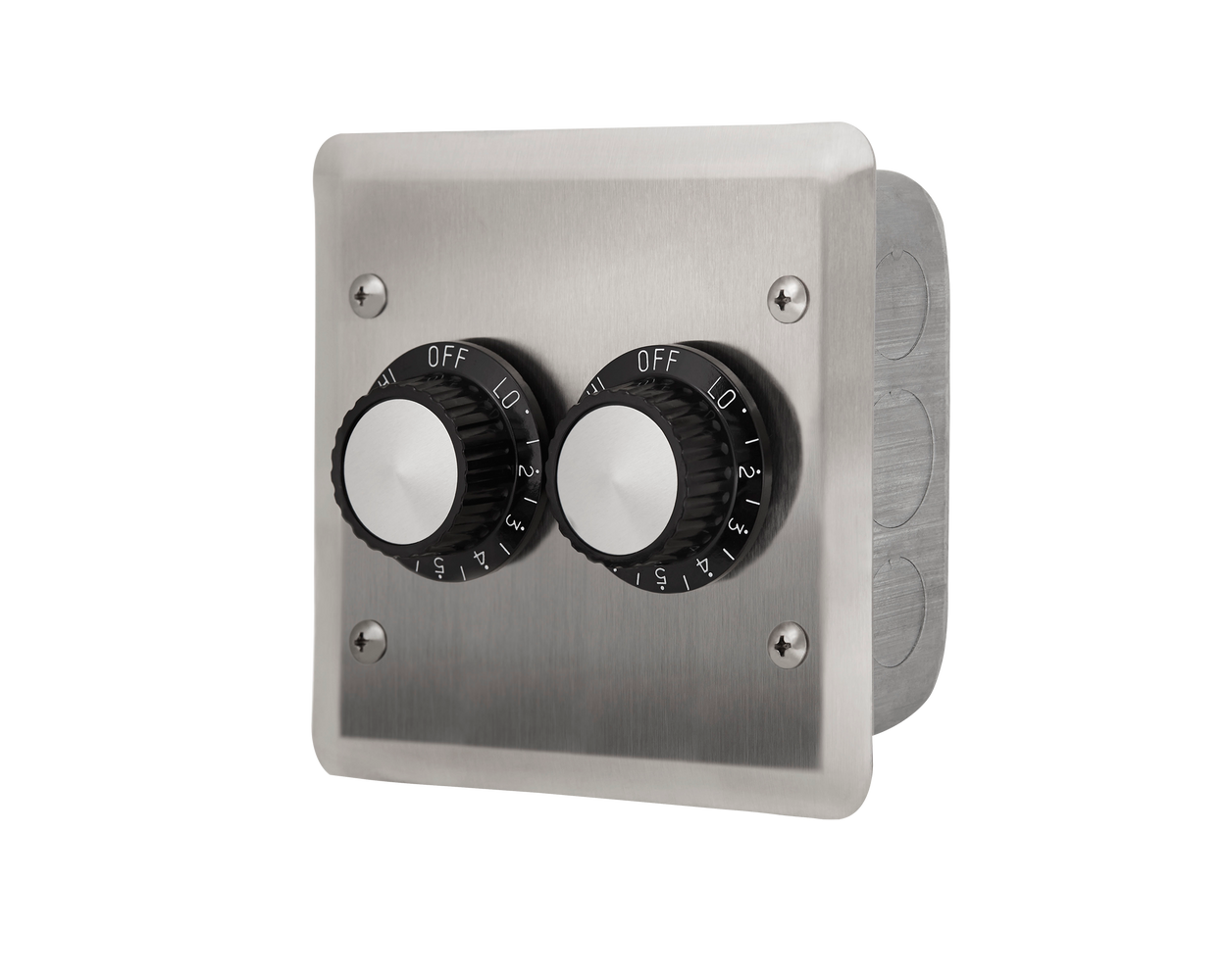 INFRATECH DUAL REGULATOR W/ STAINLESS STEEL WALL PLATE | Outdoor Heating NZ | Infratech NZ | | Outdoor Concepts