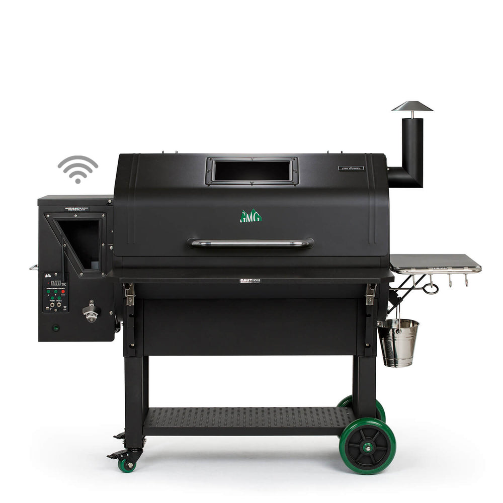 GMG JIM BOWIE PRIME PLUS | BBQs NZ | Green Mountain Grills NZ | Smokers | Outdoor Concepts