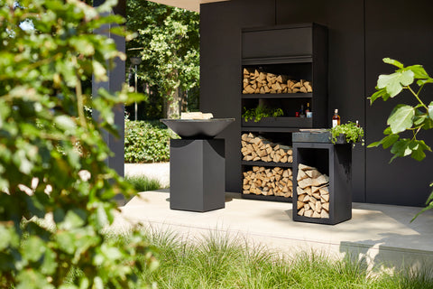 OFYR 100/100 BLACK | Outdoor Fires NZ | Ofyr NZ | Outdoor Fires, Outdoor Wood | Outdoor Concepts