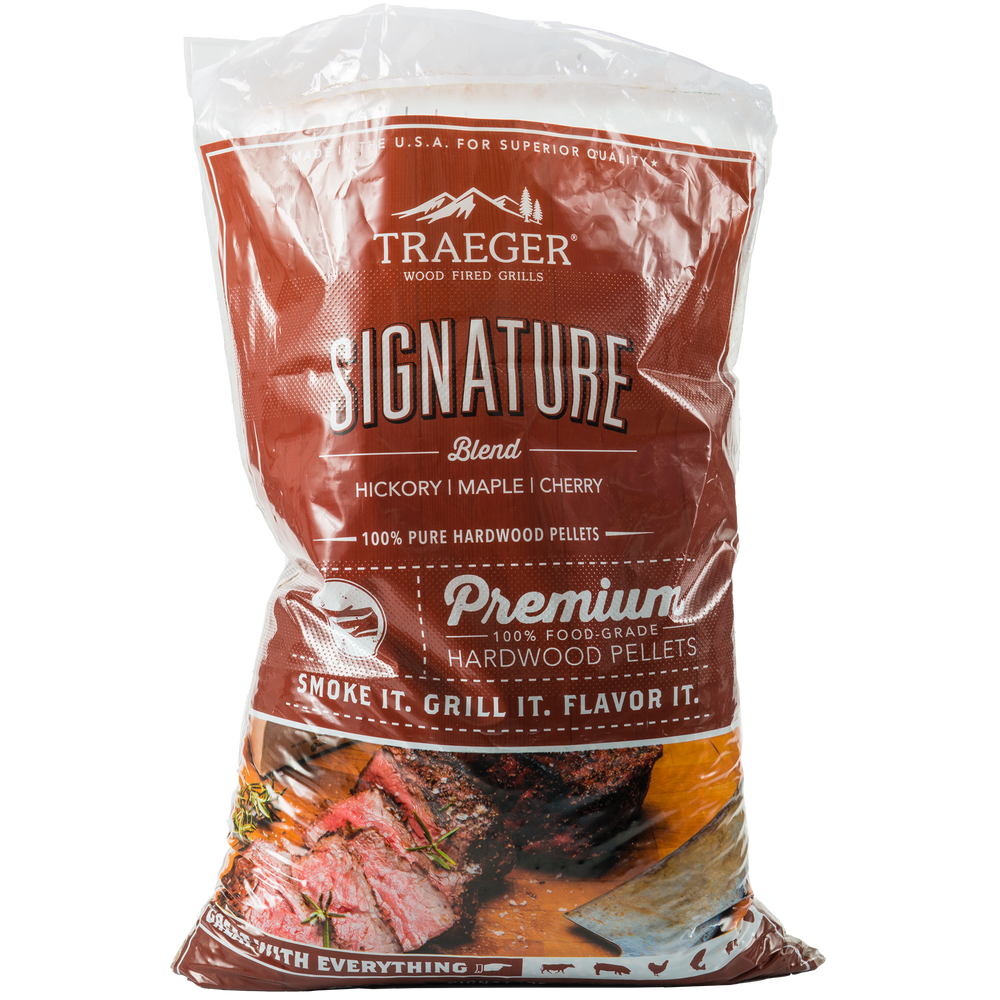 Traeger Signature Blend Pellets 9kg | BBQs NZ | Wood Pellets NZ | Fuels | Outdoor Concepts