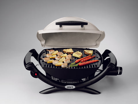 WEBER BABY Q (Q1000) BBQ BLACK | BBQs NZ | Weber NZ | Gas BBQ, portable bbq | Outdoor Concepts