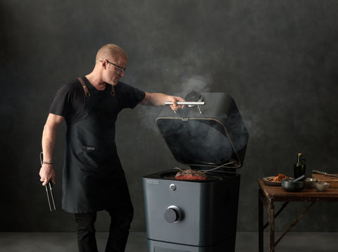 EVERDURE 4K ELECTRIC IGNITION CHARCOAL BBQ | BBQs NZ | Everdure NZ | Charcoal | Outdoor Concepts