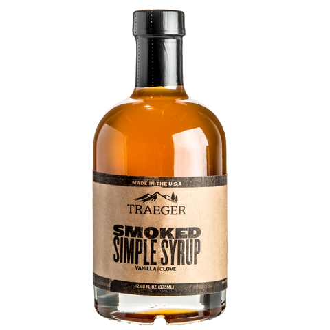 Treager Smoked Simple Syrup | outdoor concepts | bbq sauces