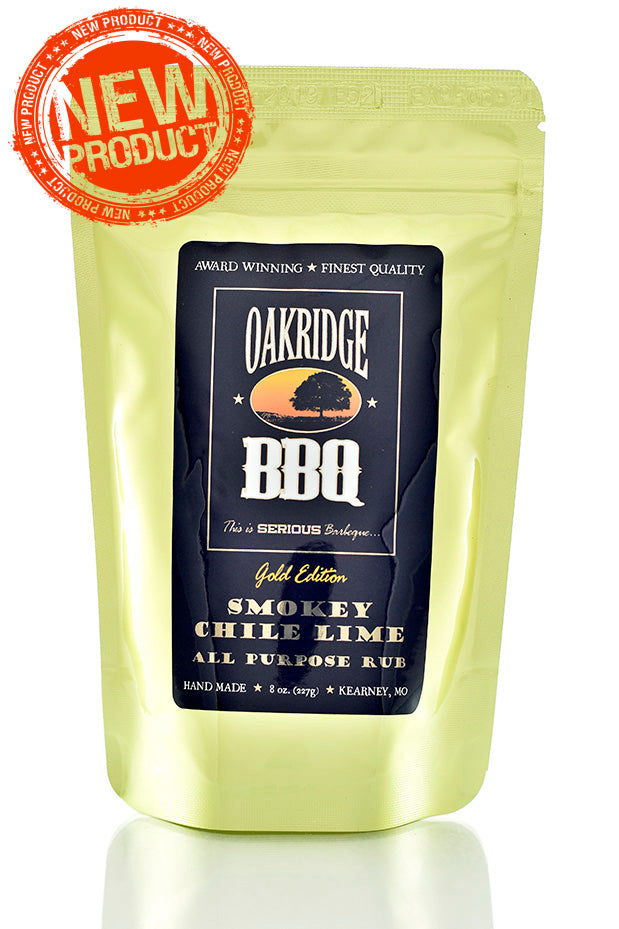 Oakridge Smokey Chile Lime All Purpose Rub 227g | BBQs NZ | Rubs & Sauces | Outdoor Concepts NZ