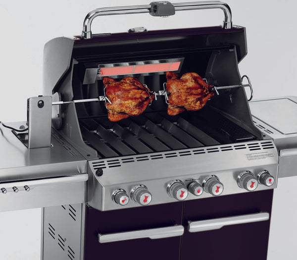 WEBER SUMMIT E-470 GRILL | BBQs NZ | Weber NZ | Gas BBQ | Outdoor Concepts