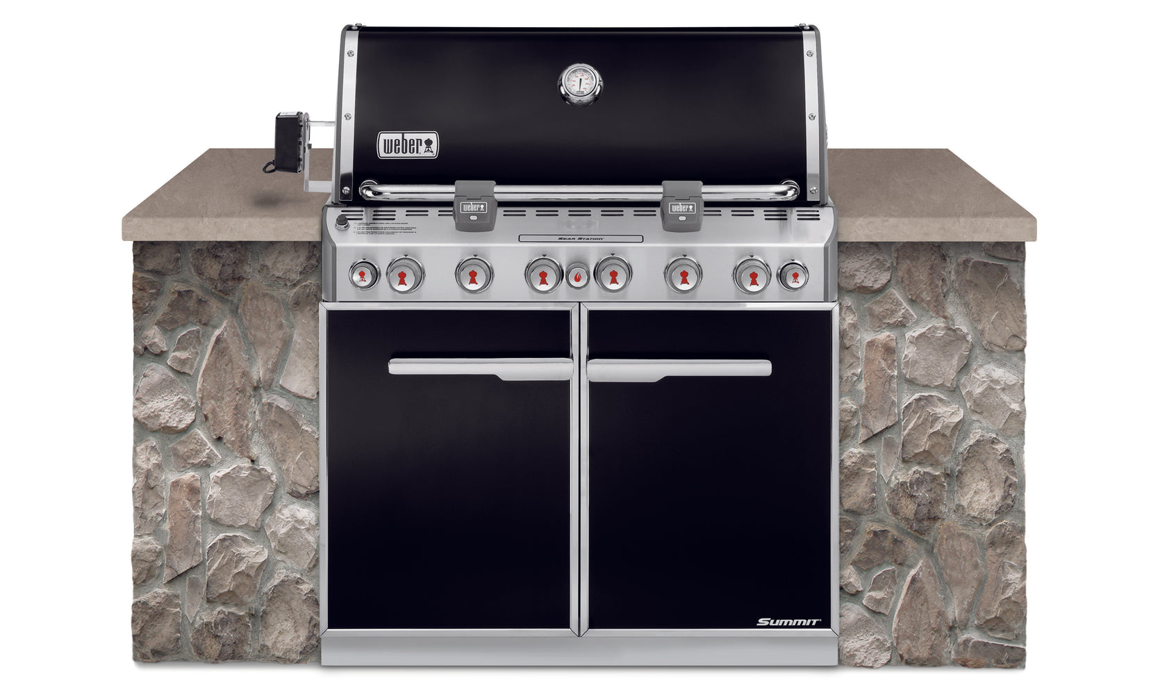 WEBER SUMMIT E-660 BUILT-IN