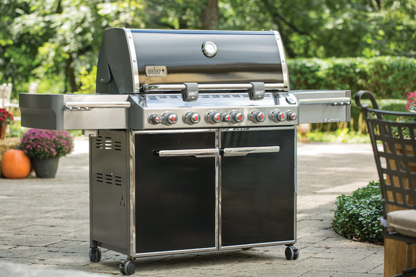 WEBER SUMMIT E-670 GRILL | BBQs NZ | Weber NZ | Gas BBQ | Outdoor Concepts