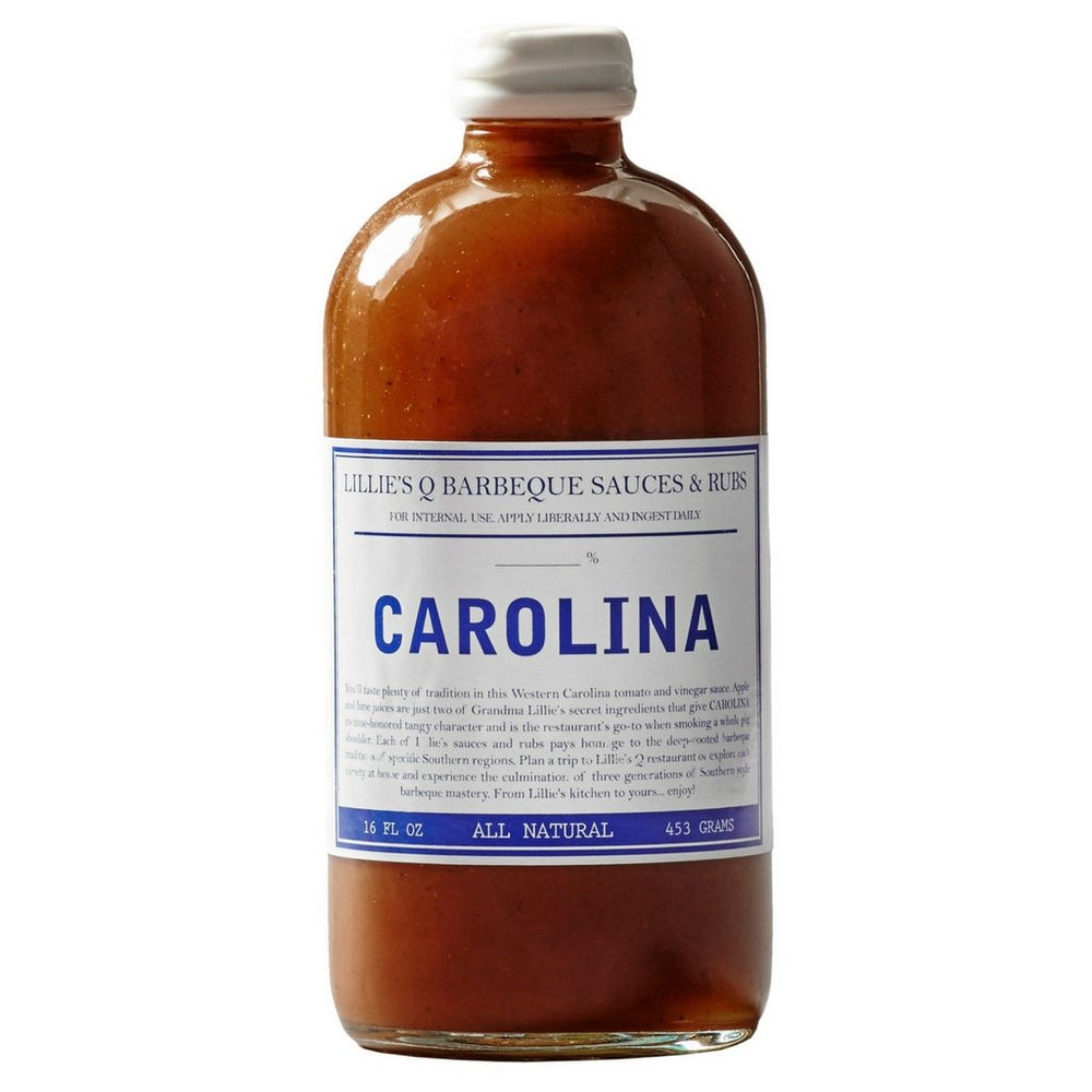 LILLIE'S Q CAROLINA BBQ SAUCE | BBQs NZ | Rubs & Sauces NZ | Accessories | Outdoor Concepts