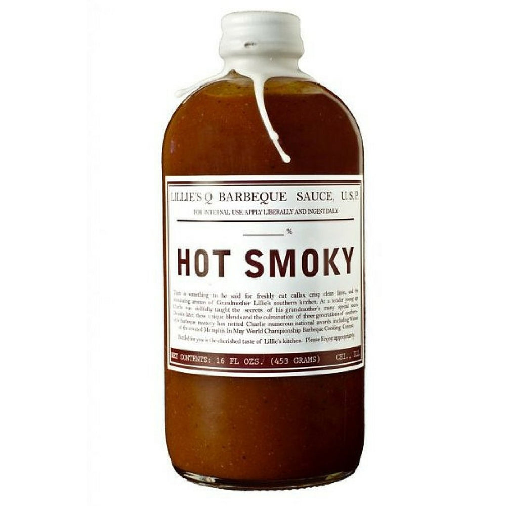 LILLIE'S Q HOT SMOKY BBQ SAUCE