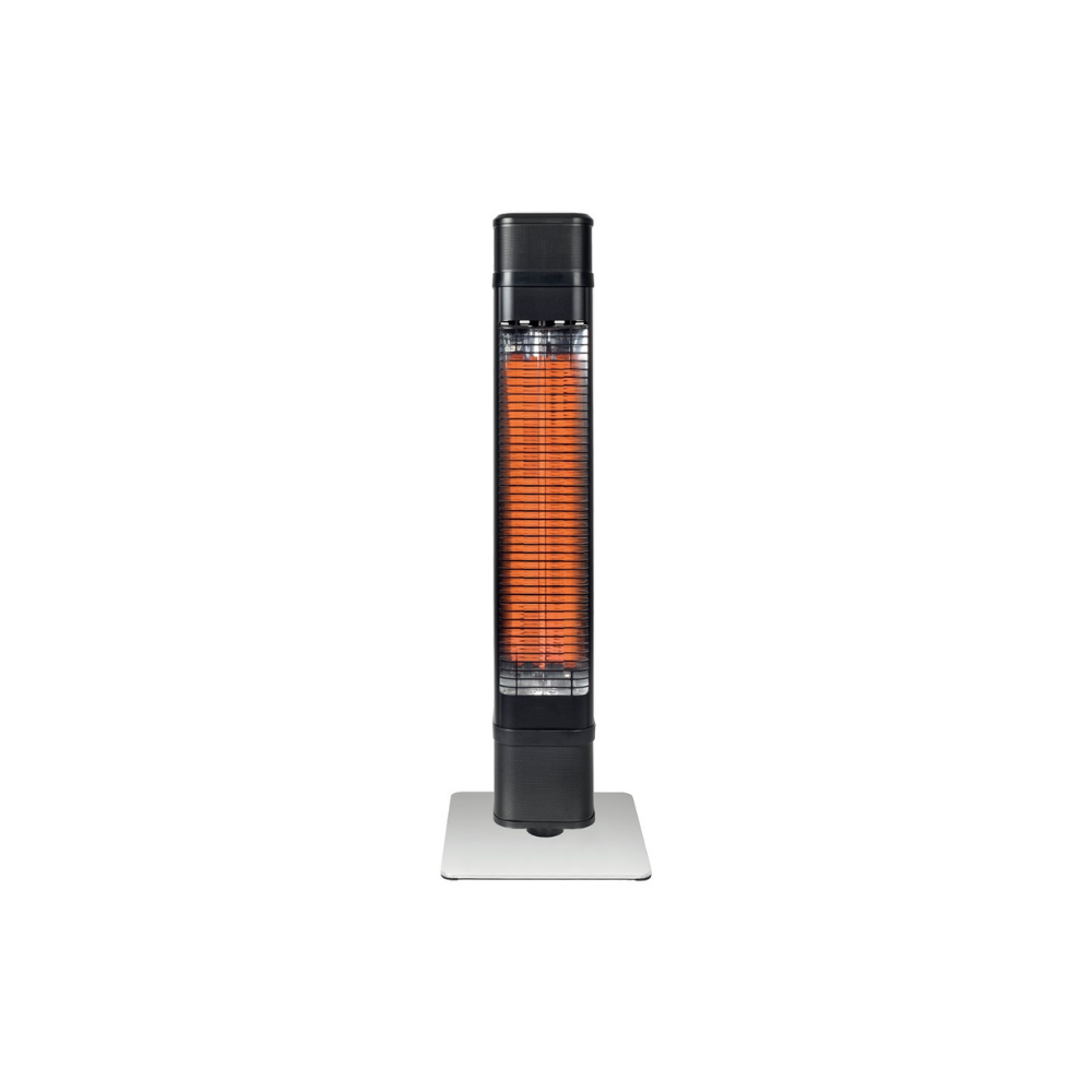 GASMATE ILLIUM FREESTANDING ELECTRIC HEATER | Outdoor Heating NZ | Gasmate NZ | Electric, free standing | Outdoor Concepts