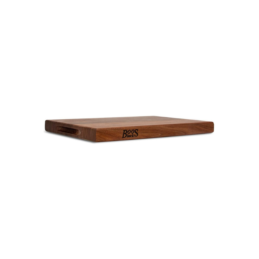 BOOS BLOCK WAL-R01 WALNUT WOOD EDGE GRAIN REVERSIBLE CUTTING BOARD 45 CM X 30 CM | BBQs NZ | John Boos & Co. NZ | Accessories, Cutting Board | Outdoor Concepts