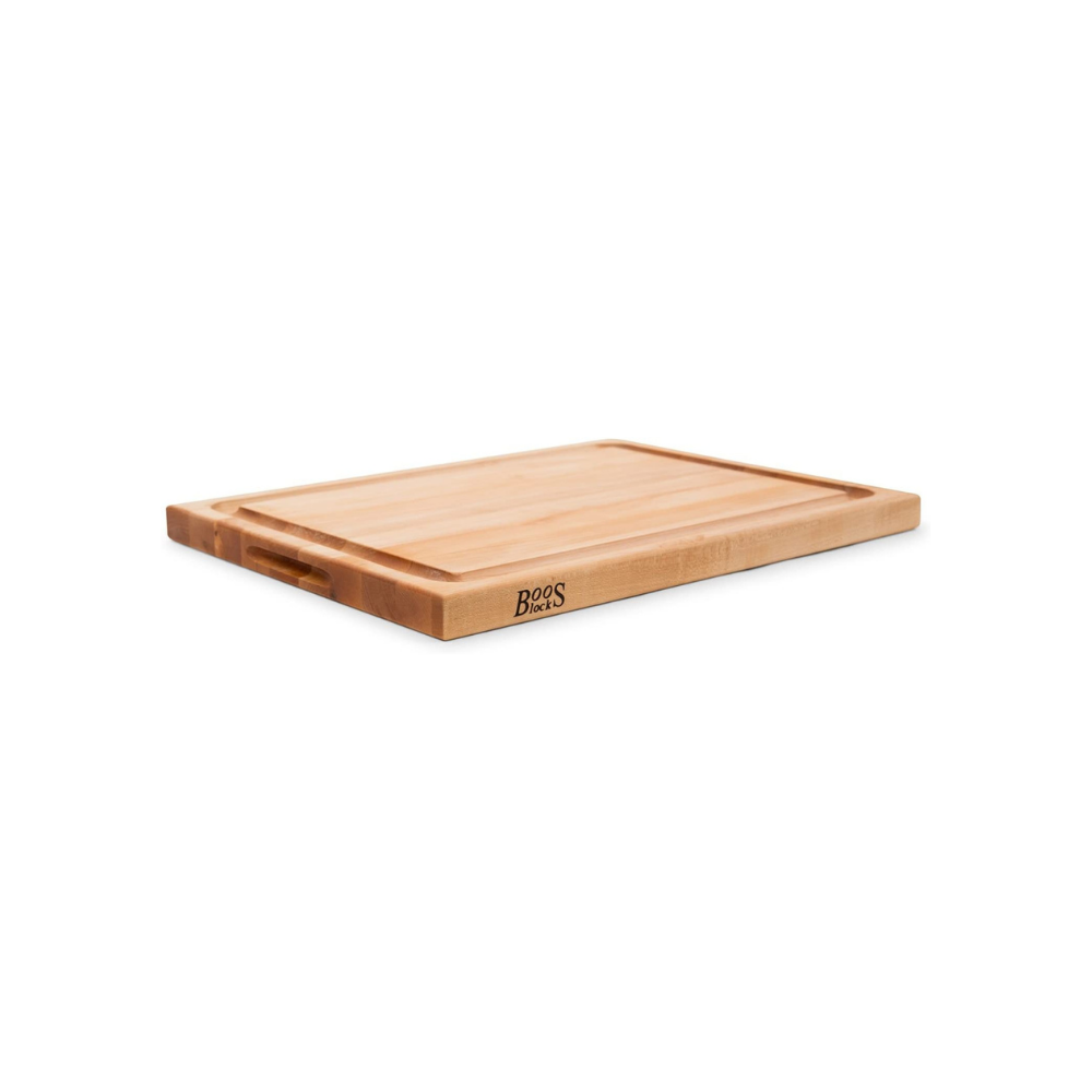 BOOS BLOCK CB1054-1M2418150 CUTTING BOARD MAPLE WITH JUICE GROOVE 61 CM x 46 CM | BBQs NZ | John Boos & Co. NZ | Accessories, Cutting Board | Outdoor Concepts